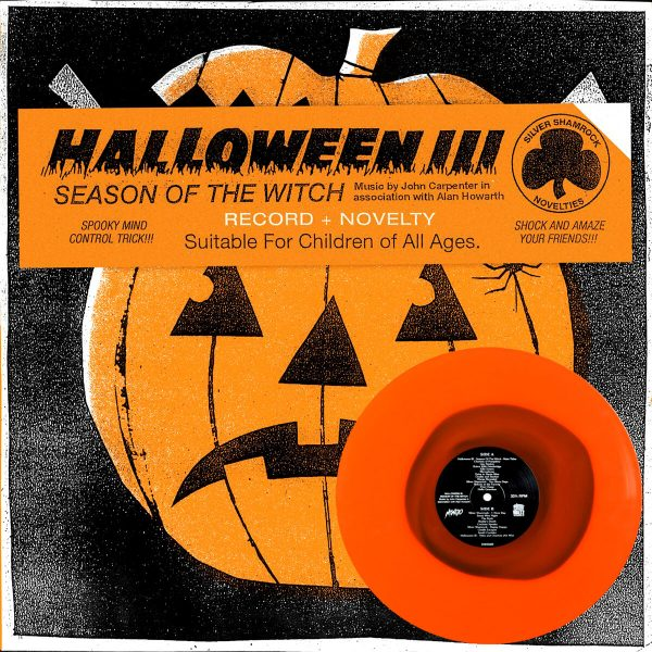 john carpenter alan howarth halloween 3 season of the witch vinyl lp