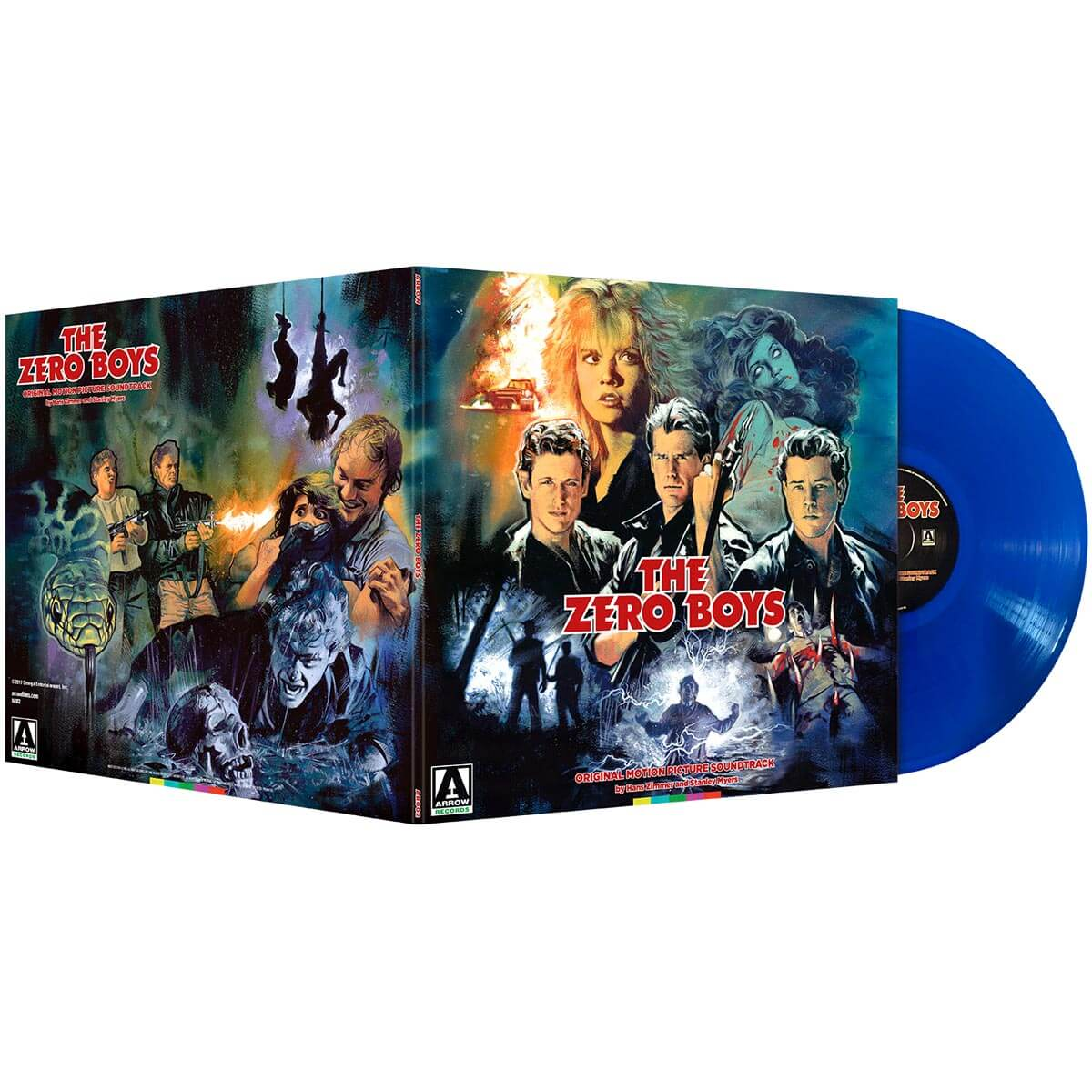 hans zimmer stanley myers the zero boys vinyl lp
