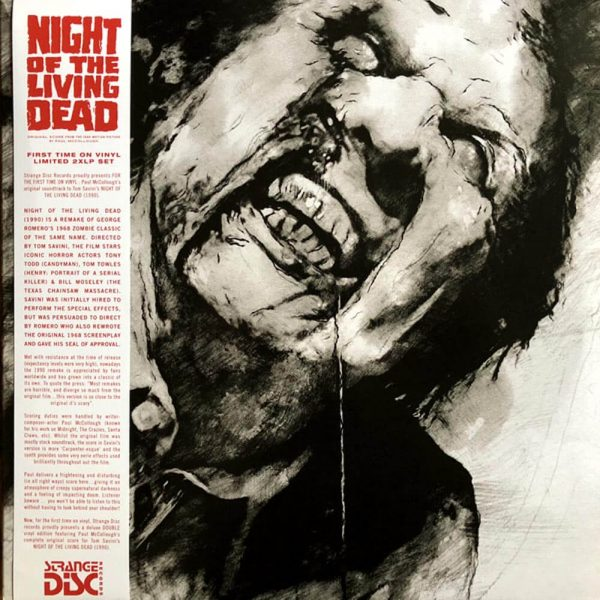 paul mccullough night of the living dead vinyl lp
