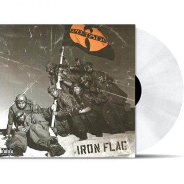 wu tang clan iron flag vinyl lp