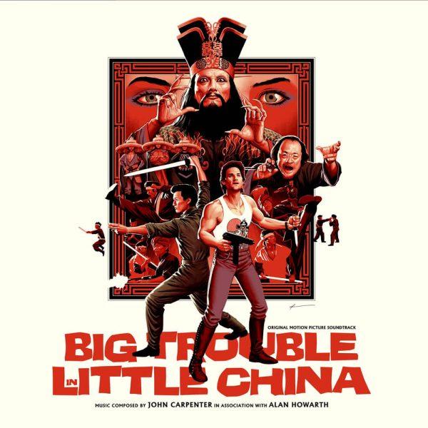 john carpenter alan howarth big trouble in little china vinyl lp