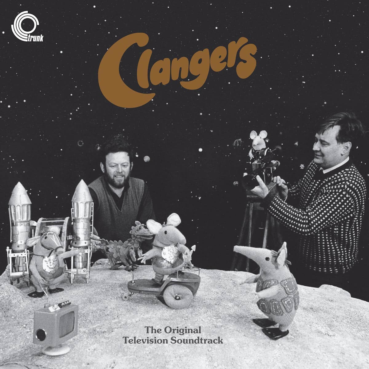 vernon elliott the clangers vinyl lp