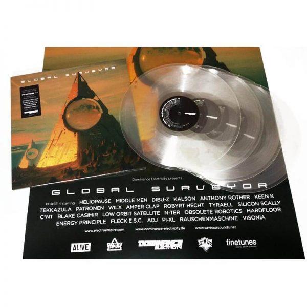 various artists global surveyor phase 4 vinyl lp
