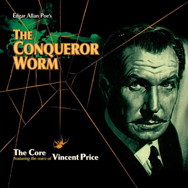 edgar allan poe the core vincent price the conqueror worm vinyl lp