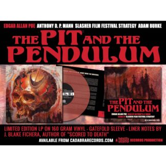 edgar allan poe the pit and the pendulum vinyl lp cadabra records