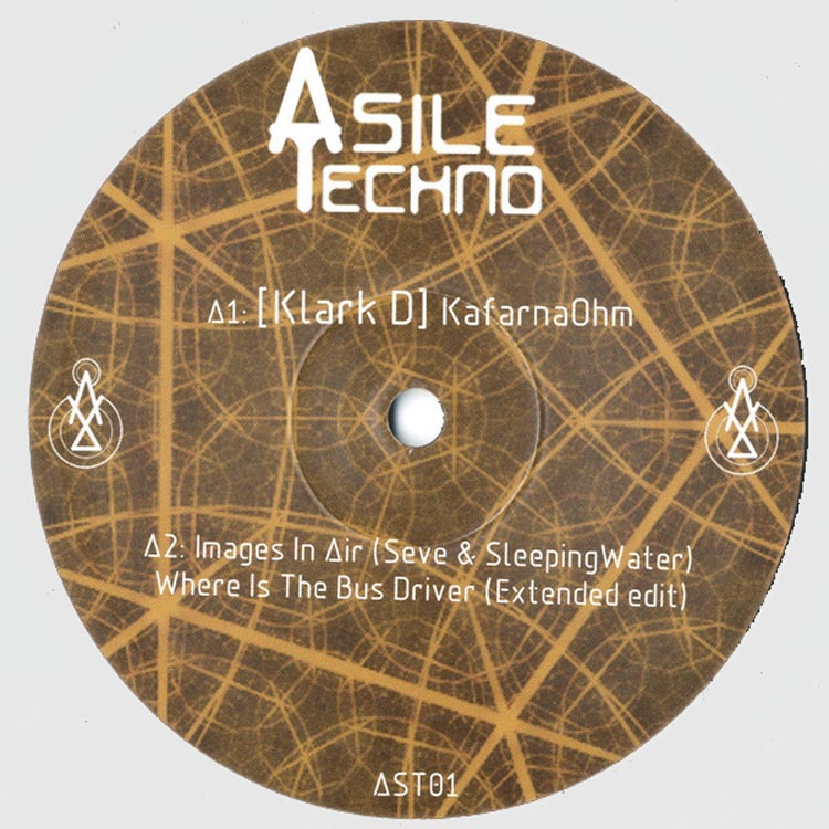 various artists asile techno 01 vinyl