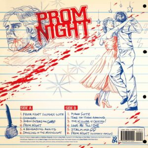 03 paul zaza carl zettrer prom night vinyl lp