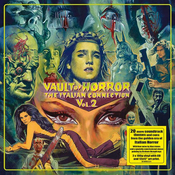 various artists vault of horror the italian connection vol 2 vinyl lp