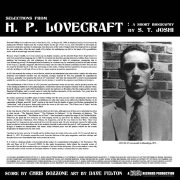 01 s t joshi chris bozzone h p lovecraft a short biography cadabra vinyl lp