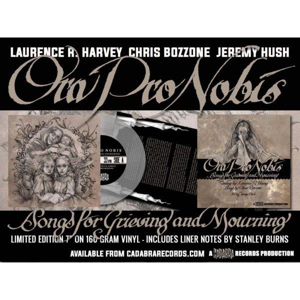 laurence harvey chris bozzone ora pro nobis vinyl cadabra records