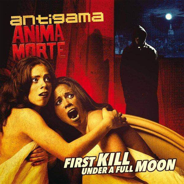 antigama anima morte first kill under a full moon vinyl lp