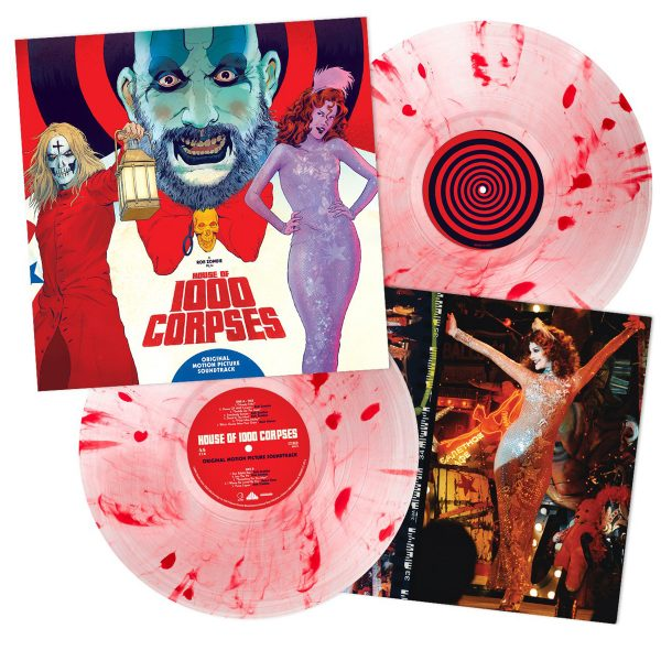 rob zombie house of 1000 corpses soundtrack vinyl lp waxwork records