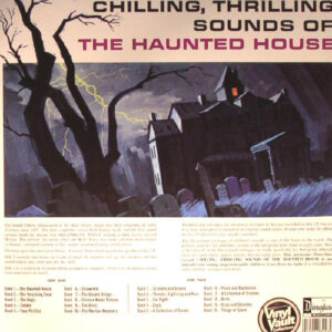 01 chilling thrilling sounds of the haunted house vinyl lp disneyland rec