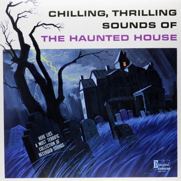 chilling thrilling sounds of the haunted house vinyl lp disneyland reco