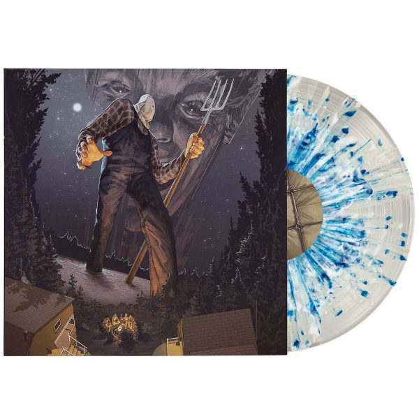 harry manfredini friday the 13th part 2 soundtrack vinyl lp blue