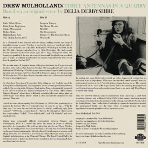02 drew holland delia derbyshire three antennas in a quarry vinyl