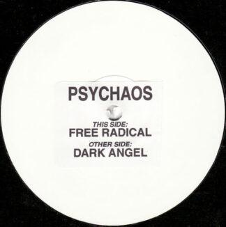 psychaos free radical 12 inch vinyl white label