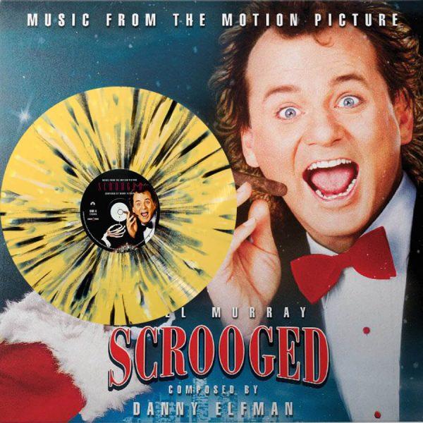 danny elfman scrooged soundtrack vinyl lp