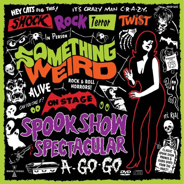 various artists something weird spook show spectacular a go go CD