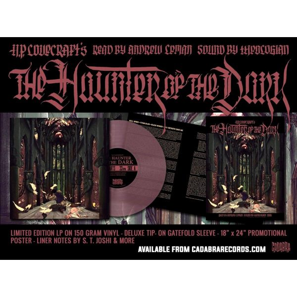 cadabra records haunter of the dark vinyl lp