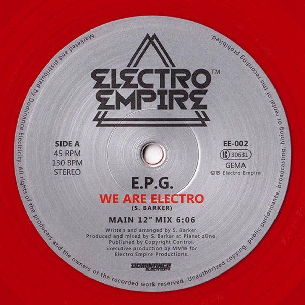 epg we are electro 12 inch vinyl