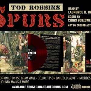 01 todd robbins spurs vinyl lp cadabra records