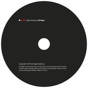 02 nigel mullaney 31 days CD