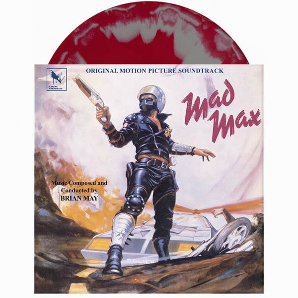 brian may mad max soundtrack vinyl lp