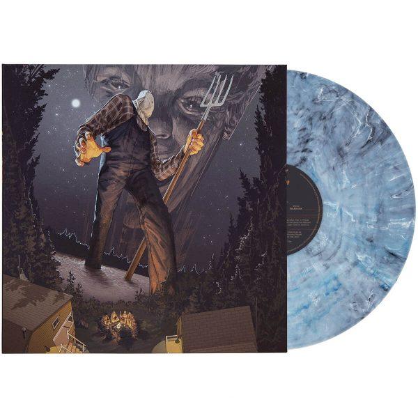 harry manfredini friday the 13th part 2 soundtrack vinyl lp blue