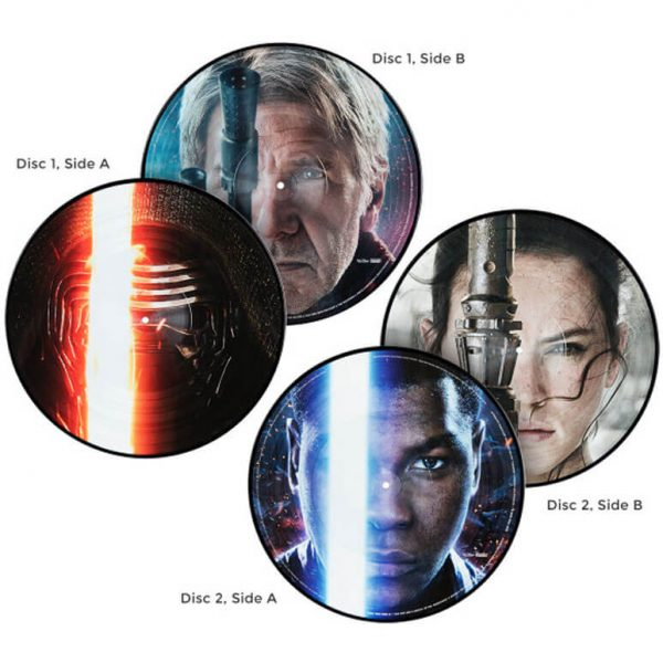 john williams the force awakens vinyl lp picture discs