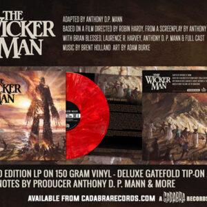 01 brian blessed the wicker man cadabra records vinyl lp