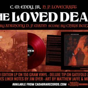 01 h p lovecraft the loved dead vinyl lp cadabra records