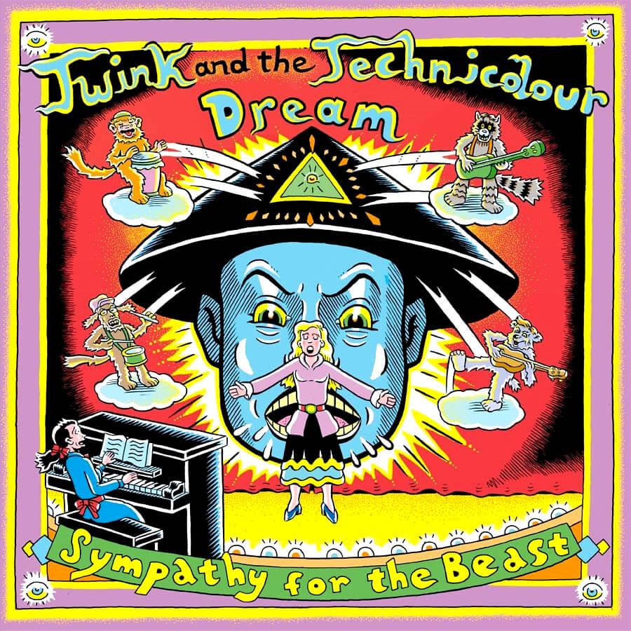 twink sympathy for the beast vinyl lp