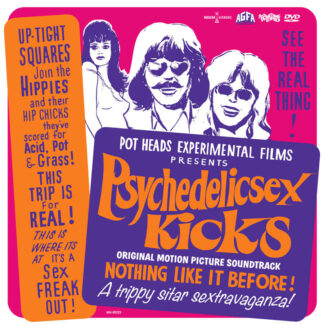various pschedelic sex kicks soundtrack CD