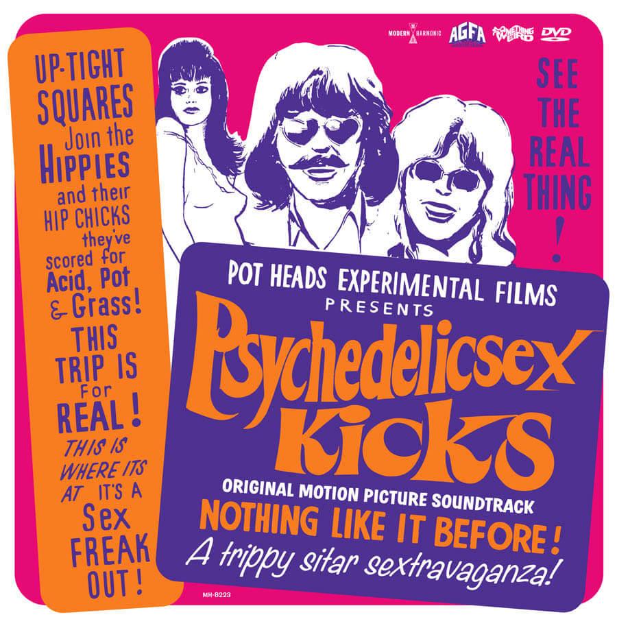 various pschedelic sex kicks soundtrack CD
