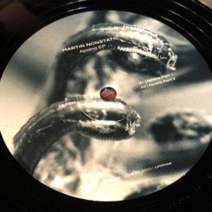 01 martin nonstatic apana ep vinyl ultimae records