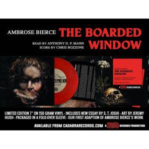 01 ambrose bierce the boarded window vinyl cadabra records
