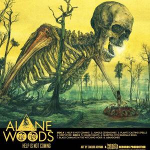 01 alone in the woods help is not coming vinyl lp cadabra