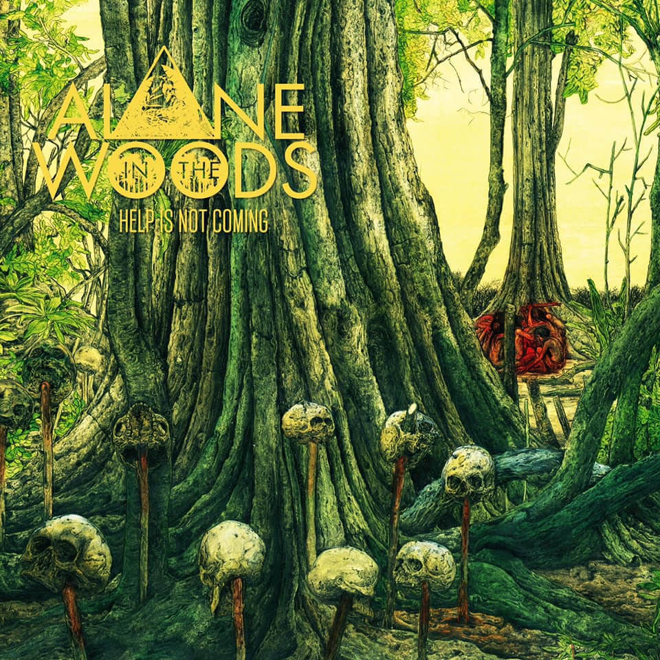 alone in the woods help is not coming vinyl lp cadabra