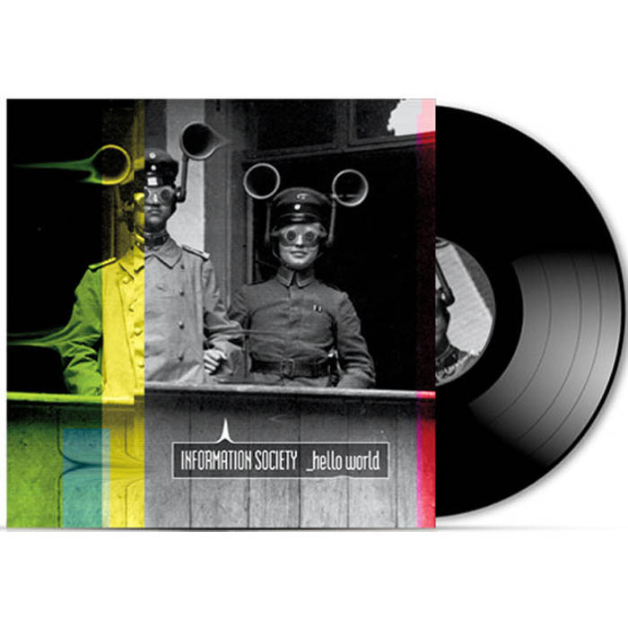 information society hello world vinyl lp