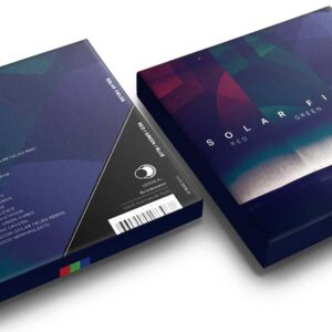01 solar fields red green blue CD box set