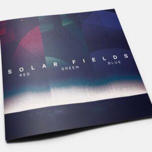 02 solar fields red green blue CD box set