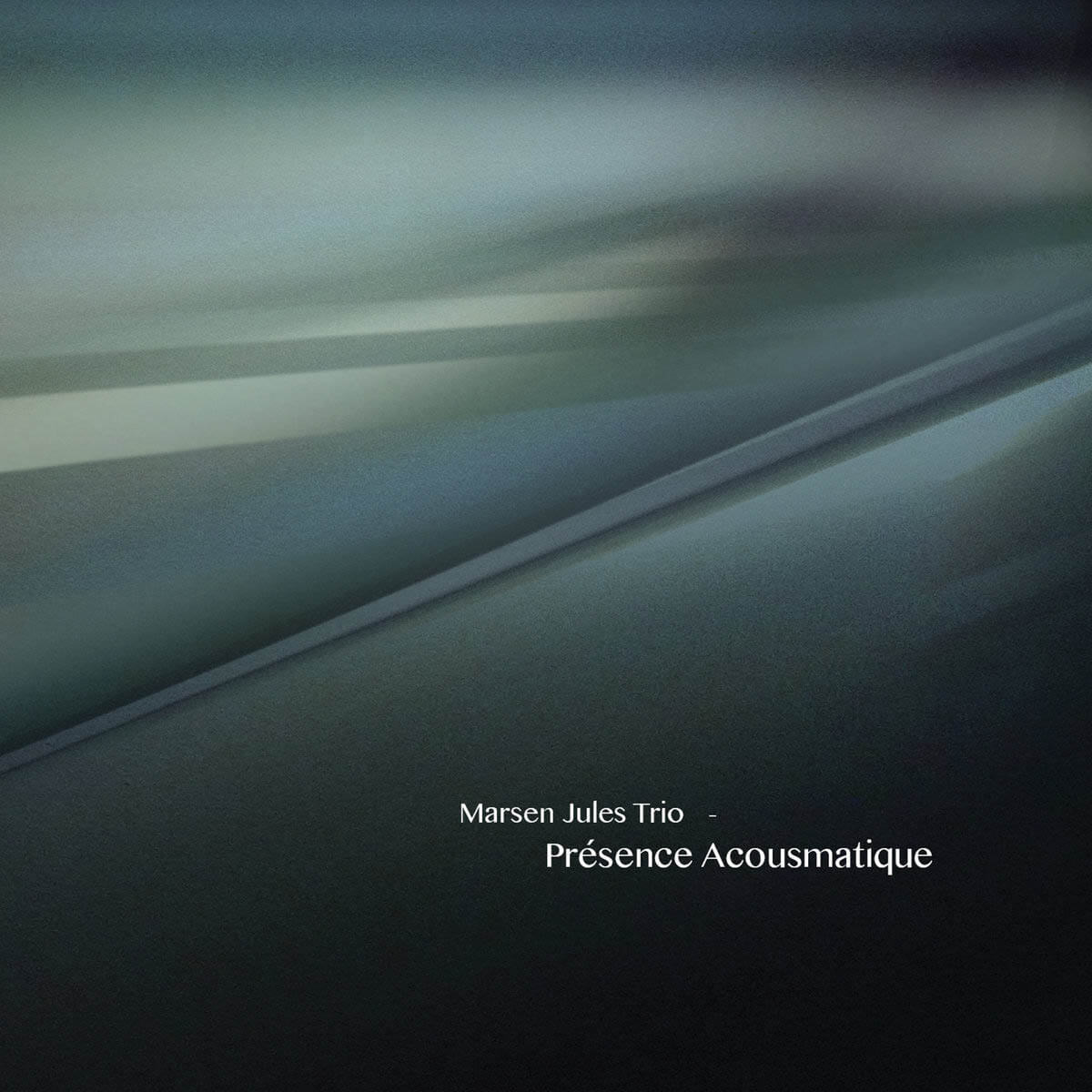 marsen jules trio presence acousmatique CD