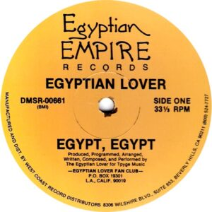 the egyptian lover egypt egypt 12 inch vinyl