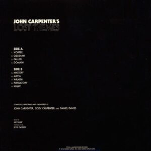 02 john carpenter lost themes vinyl lp