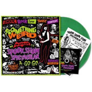 various something weird spook show spectacular vinyl lp green