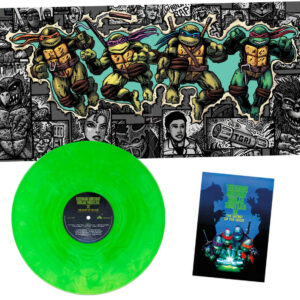 01 john du prez teenage mutant ninjat turtles 2 vinyl lp
