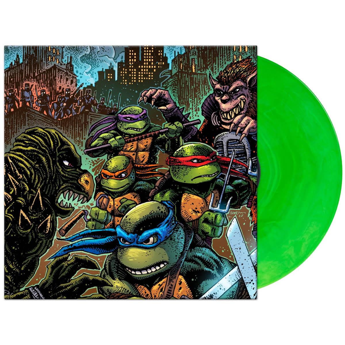 john du prez teenage mutant ninjat turtles 2 vinyl lp