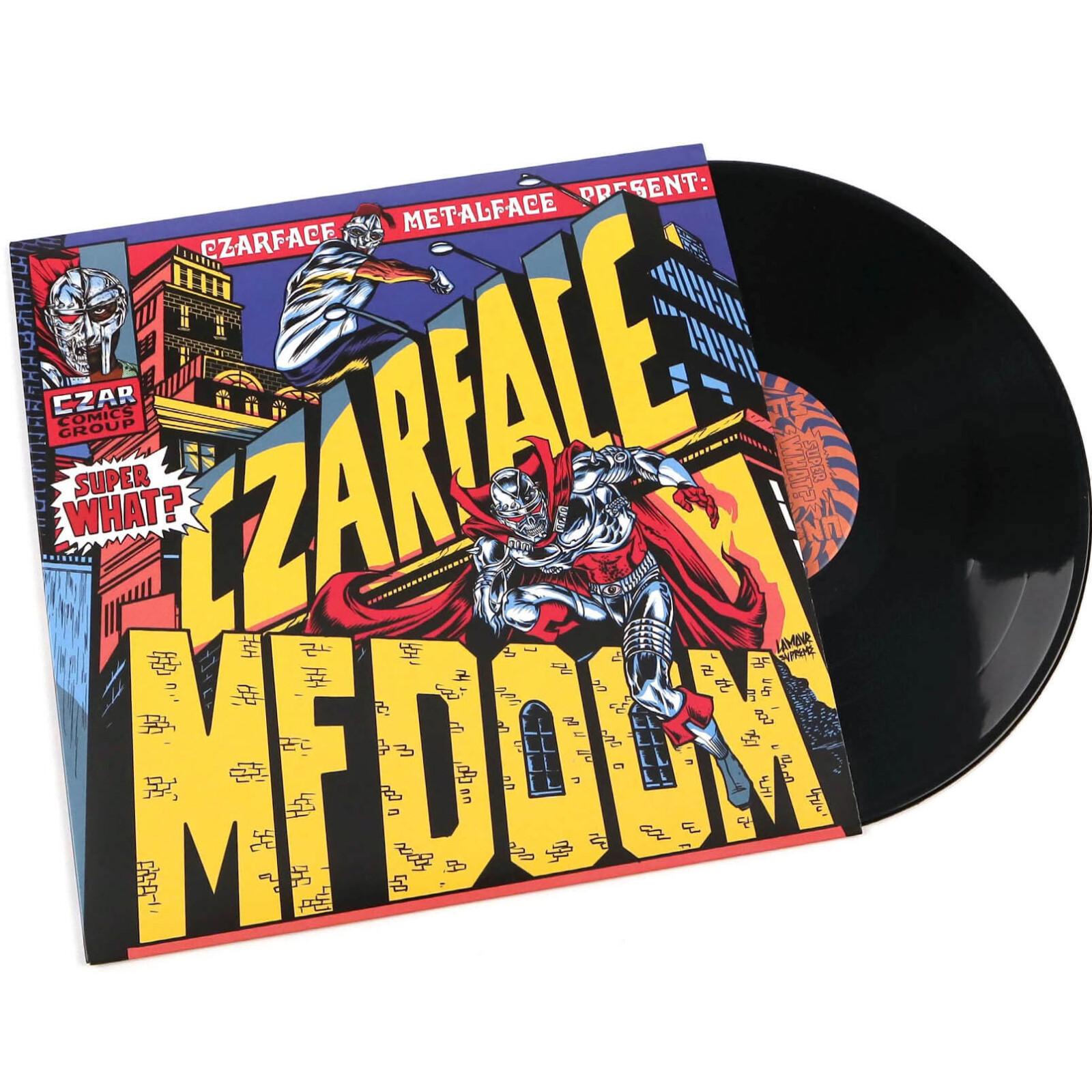 czarface mf doom super what vinyl lp