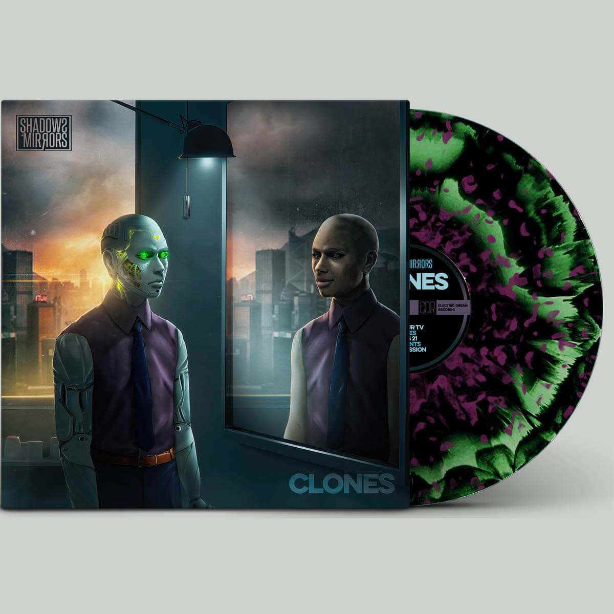shadows mirrors clones vinyl lp